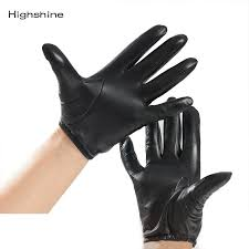 genuine leather gloves fashion classic