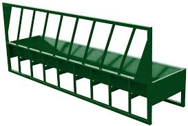 Fence Line Bunk Feeder For Cattle Lakeland Farm And Ranch Direct