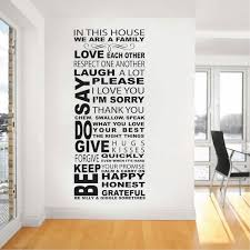 In This House Wall Decal Trendy Wall Designs