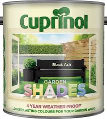 Cuprinol Garden Shades Paint Black Ash 1l 11 99