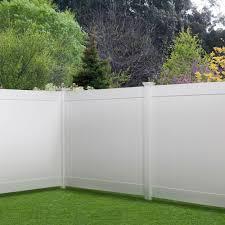 Pro Series Hudson 6 Ft X 8 Ft White Vinyl Privacy Fence Panel 90489233051 Ebay