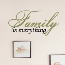Family Is Everything Wall Decal Decalmywall Com