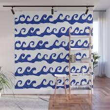 Waves Ocean Nautical Theme Kids Room Nursery Boys Or Girls Decor Wall Mural By Charlottewinter Society6