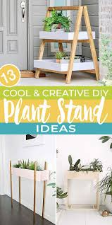 cool creative diy plant stand ideas