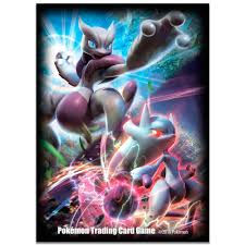 Pokemon Standard Size Sleeves - Mega Mewtwo X & Y - 65ct - Accessories »  Sleeves - Collector's Cache