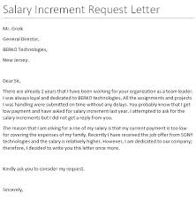 10 best salary increment letter format