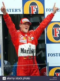 Dpa) Il tedesco F1 campione del mondo Michael Schumacher jubilates ...