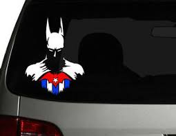 Cuba Vinyl Car Decal Sticker 6 H W Hero Batman Cuba Flag Ebay