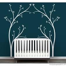 Littlelion Studio Portal Tree Canopy Bed Headboard Wall Decal Ixt1118