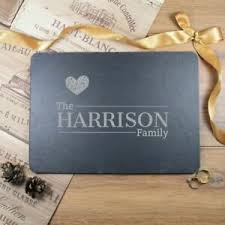 personalised placemats slate placemats