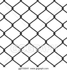 Drawing Chain Link Fence Clipart Drawing Gg5155541 Gograph