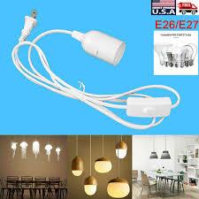pendant lamp light cord set bulb socket