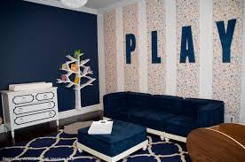 Navy Girl S Playroom Kid S Den Modern Kids New York By Vanessa Antonelli Designs