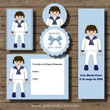 Kit Imprimible De Comunion Click Nino Tienda Online