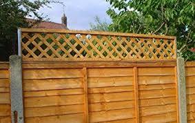 Postfix Fence Height Extension Arms Pair No Trellis Included Amazon Co Uk Diy Tools