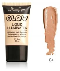 new cosmetic shimmer brightener face