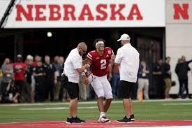 Nebraska QB Adrian Martinez 'day-to-day' with knee injury