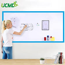 Dry Wipe Kids Room Decal Decor Whiteboard Wall Sticker Hold Magnets Self Adhesive 100x60 Cm Office Meeting Writing White Board White Board Whiteboard Walldry Wipe Board Aliexpress
