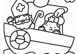 Kleurplaten Kleurplaat Zwarte Piet Peuters