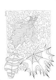 Herfst Bladeren Doodle Kleurplaten Kleuren En Kleurplaten