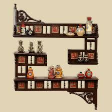 simple design teak wood shelves teak