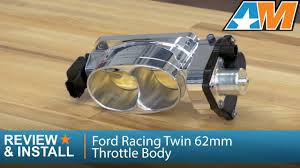 2005-2010 Mustang Ford Racing Twin 62mm Throttle Body (GT) Review ...