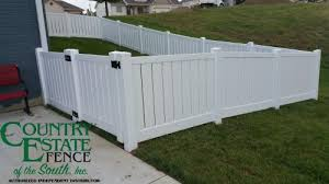 Vinyl Fencing Country Estate Fence Of The South Vinyl Aluminum Fencing