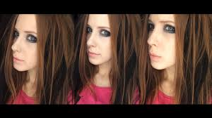makeup tutorial avril lavigne 2004