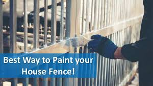 Best Way To Paint Your House Fence