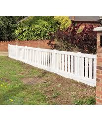 Plastic Picket Fencing Outdoor Plastic Fencing Tekplas