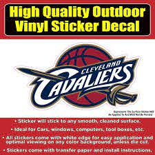 Cleveland Cavaliers Cavs Vinyl Bumper Car Window Sticker Decal Colorado Sticker