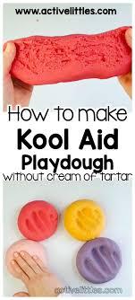kool aid playdough recipe without cream