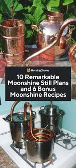 10 diy moonshine still plans and 6