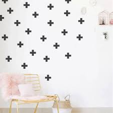Swiss Cross Wall Decal Stick On Wall Decals X Wall Decals Etsy