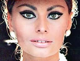 sophia loren eye makeup cat eye makeup