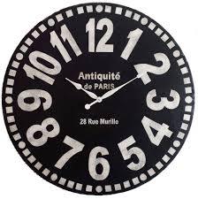 large wall clock 30 inch murillo paris