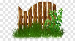 Fence Garden Gate Clip Art Grass Family Transparent Png