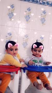 صورة بنات توم ريم و ياسمين بنات حسان اطفال محافظة الانبار
