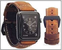italian leather band for apple watch