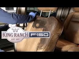 re king ranch ford truck seats
