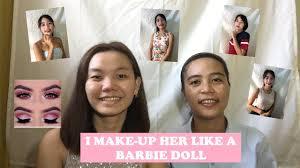i make up her like a barbie doll anna