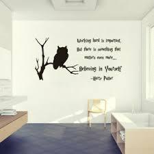 harry potter vinyl wall decals quote home decor bedroom art wall