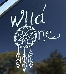 Wild One Decal Tribal Dreamcatcher Arrow Vinyl Car Or Etsy Car Decals Vinyl Wild Ones Vinyl