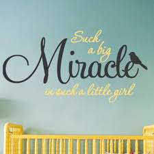 Such A Big Miracle Wall Decal Decalmywall Com