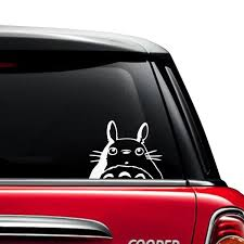 Totoro Head Car Decal The Decal Guru
