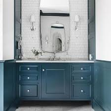White Picket Bathroom Backsplash Tiles Design Ideas