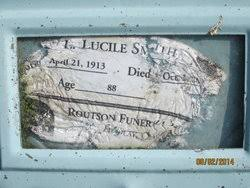 "Laila Lucile ""Lucile"" Smith (1913-2001) - Find A Grave Memorial"