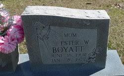 Ester West Boyatt (1902-1977) - Find A Grave Memorial