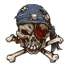 14 8cm 15m Funny Pirate Skull Decal Pvc Motorcycle Car Sticker 11 00688 Wish