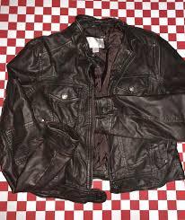 xhilaration brown faux leather jacket